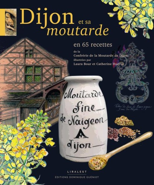 Catherine Huerta Co-Illustrates Dijon et sa Moutarde New Cookbook