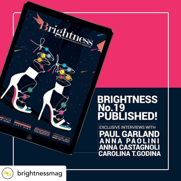 Brightness Magazine Features Revealing Interview with Paul Garland