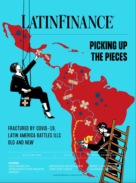 Canu's New Cover for LatinFinance Magazine