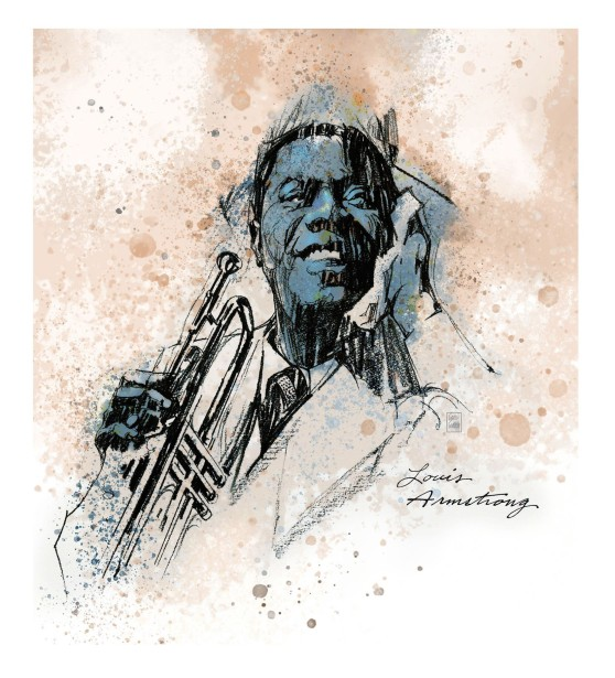 Glazier Celebrates the Life of Louis Armstrong