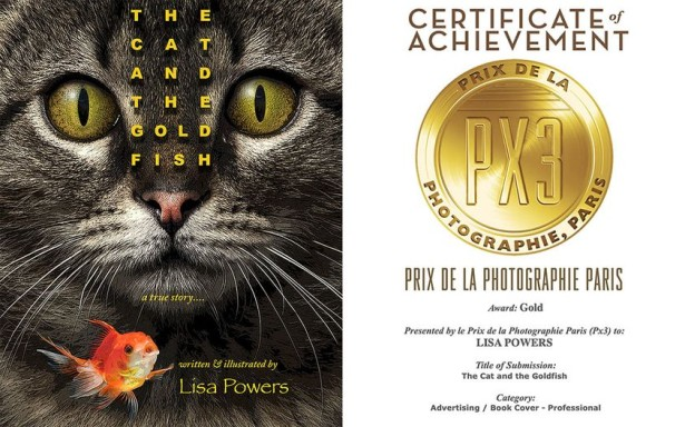 "Lisa Powers' ""The Cat and The Goldfish"" Wins GOLD for Best Cover"