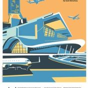 "Canu Illustrates WSJ Life & Arts ""Best Airports 2019"" issue"