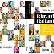 "Ivan Canu's 56 Portraits for ""Ritratti Italiani"" Newly Published Book"