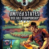 Brian Allen Designs Poster for Disc Golf Championship