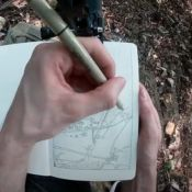 """The Ink Trail"" Shares Voiced Time Lapse of Recent Forest Sketch"