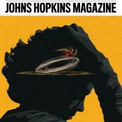 Smith Nods to Classic Cartoon With Illustrations for Johns Hopkins Magazine