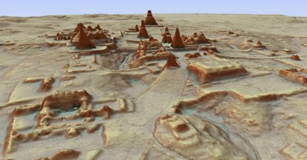 Descubren una gigantesca ciudad maya oculta en la selva de Guatemala - 1