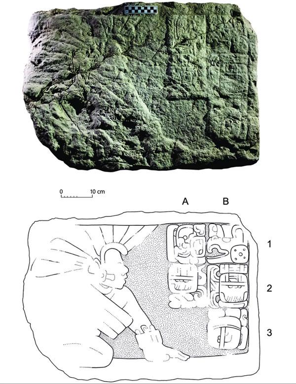 Hallan imágenes de 'beisbolistas' del período maya - 1
