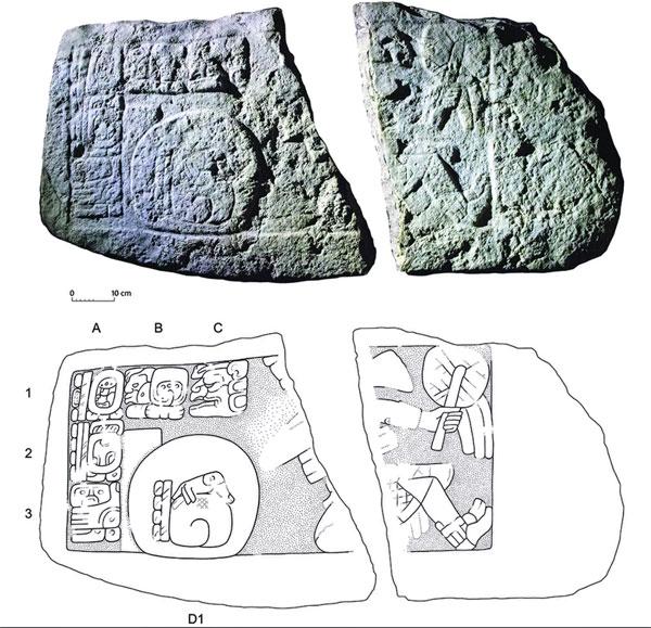 Hallan imágenes de 'beisbolistas' del período maya - 2