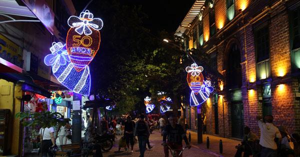 Medellín: innovación tecnológica para una de las mejores iluminaciones navideñas del mundo - 1