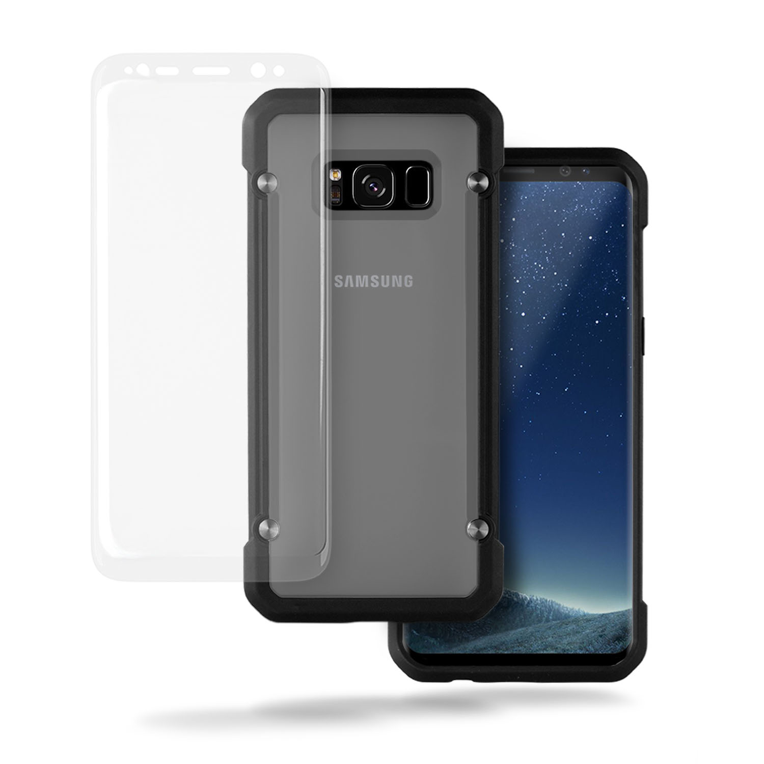 Samsung Galaxy S8 Case, TortugaArmor HEAVY DUTY Protective Case with Reinforced Corner for Samsung S8 - PARENT