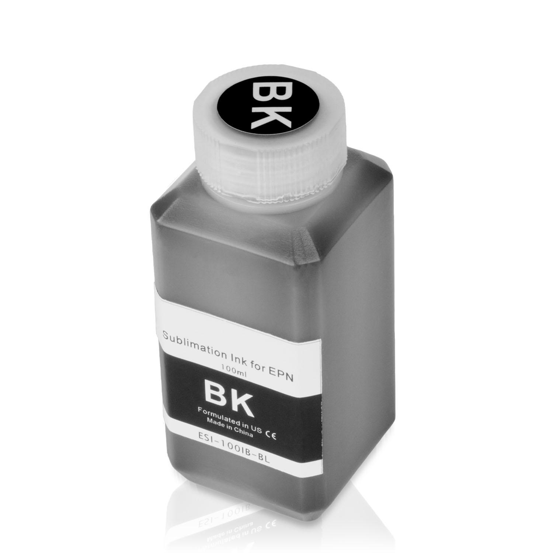 1 Bottle (100ml) Refill Ink - ALLINKTONER Epson Compatible Black Sublimation for Epson Printers