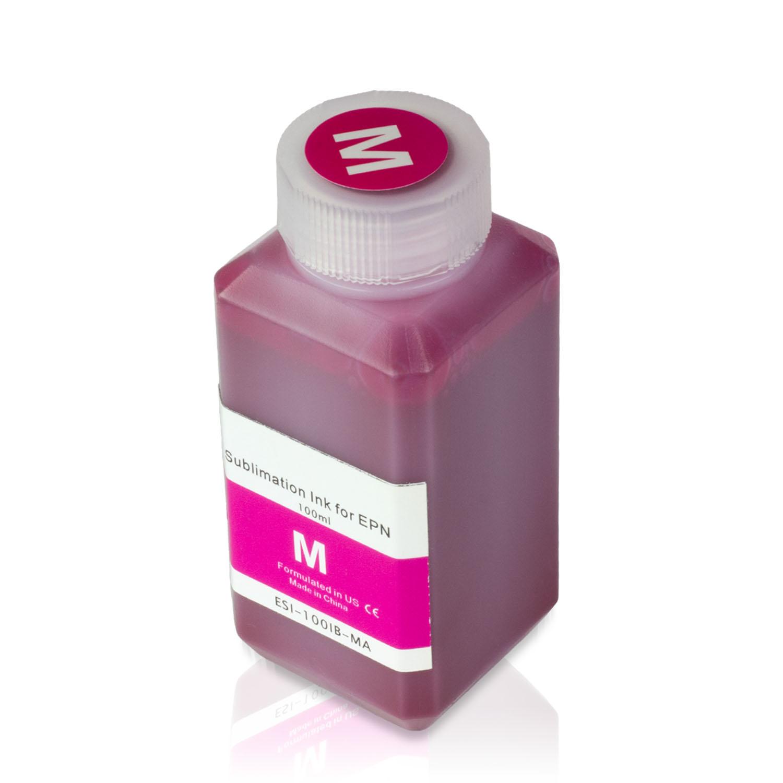 1 Bottle (100ml) Refill Ink - ALLINKTONER Epson Compatible Magenta Sublimation for Epson Printers
