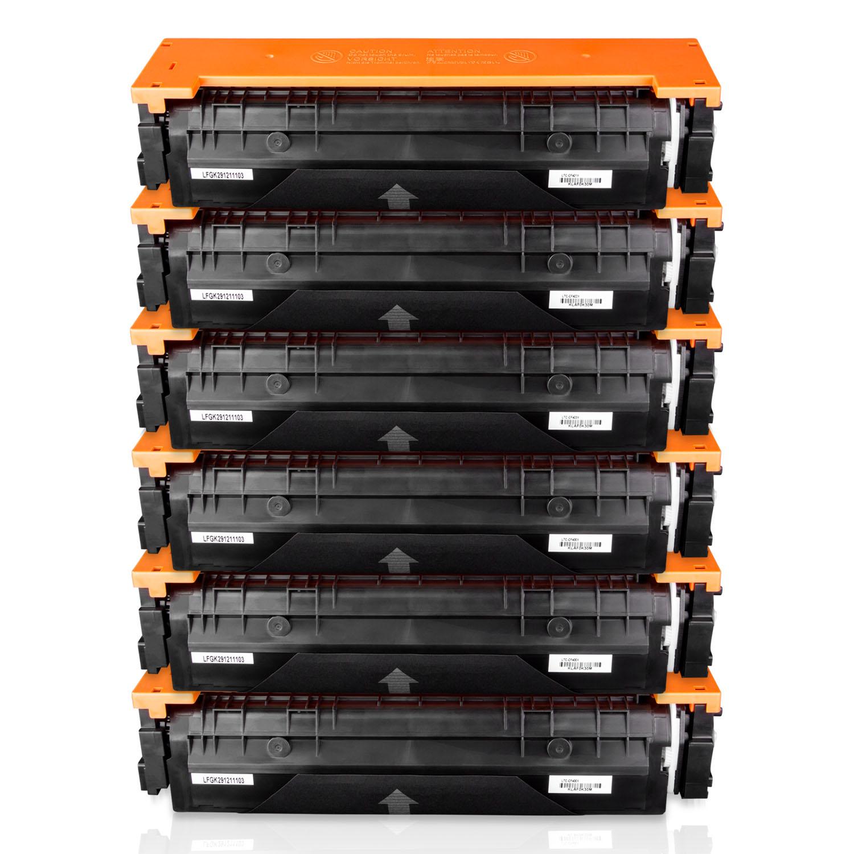 OfficeSmartInk HP 201X (3x Black, Cyan, Yellow, Magenta) Compatible Cartridge for HP LaserJet Pro M252, M252n, M252dw, MFP M277, MFP M277n, MFP M277dw (HP CF400X CF401X CF402X CF403X) Printers - 6PK