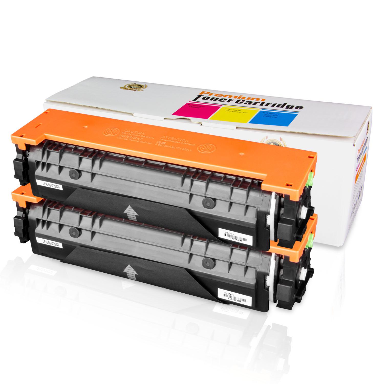 2PK Of ALLINKTONER HP Compatible 410A CF411A Cyan LaserJet Toner Cartridge For Color Pro 300 MFP M375nw 400 M451dn M451dw
