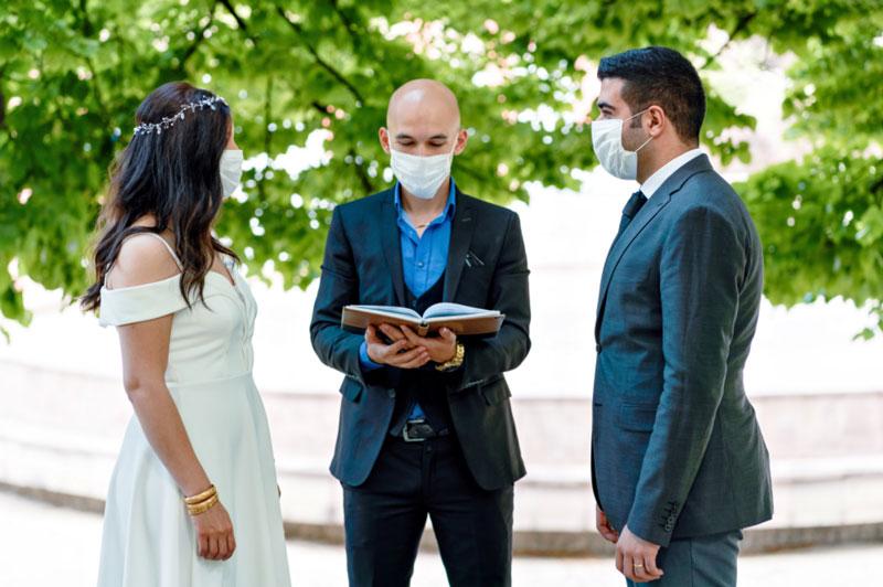 Scripts covid safe ceremony