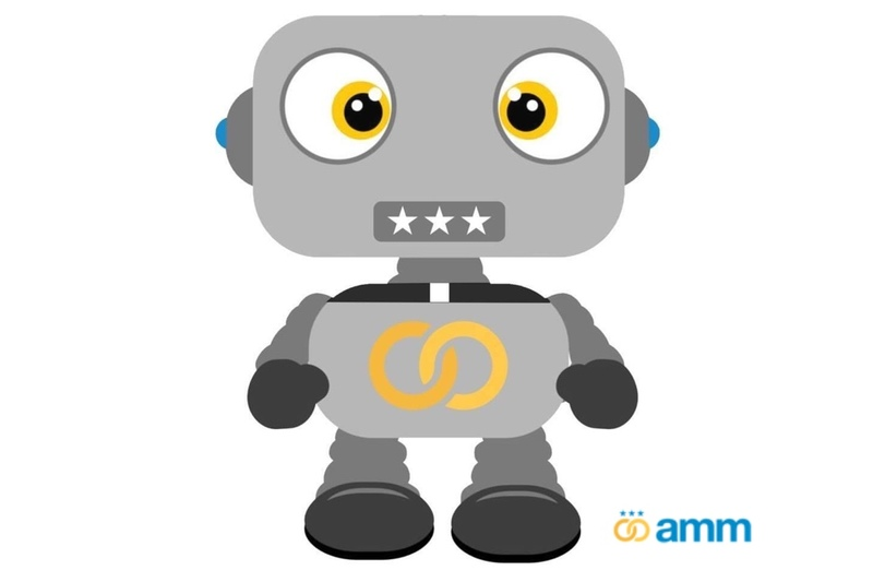 image is of our helpful robot, AMM BOT