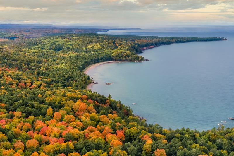 Photo of the Upper Peninsula in Michigan