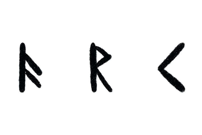 Norse Runes, Ansuz, Raido, and Kenaz