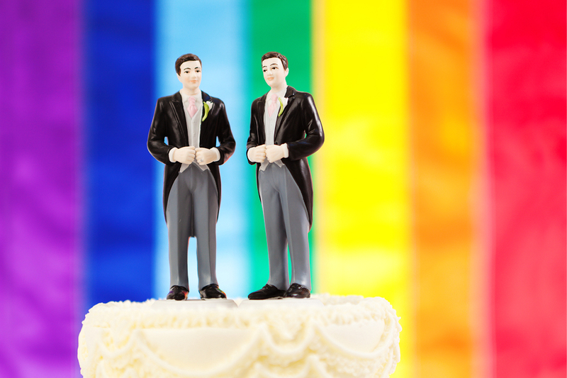 image of gay wedding cake topper, texas proposed legislation lgbtq marriage, gendered language changes