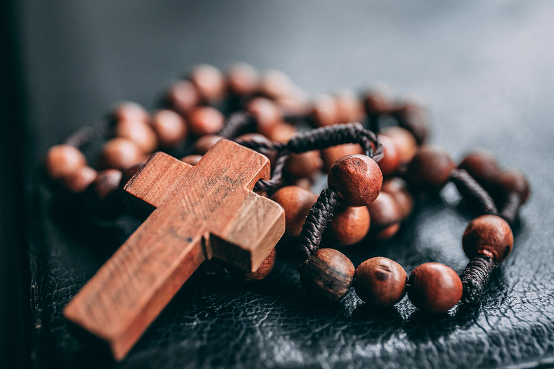 rosary beads of the catholic church, pope francis, women's place in the church