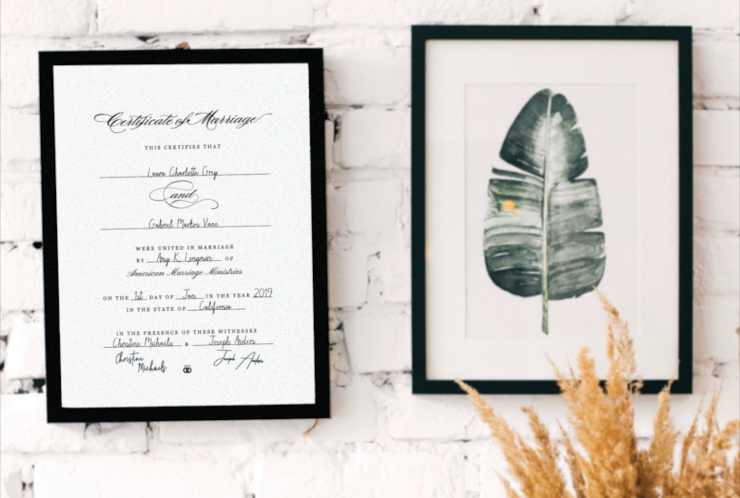 These works of art are a lasting reminder of a couple's wedding day...