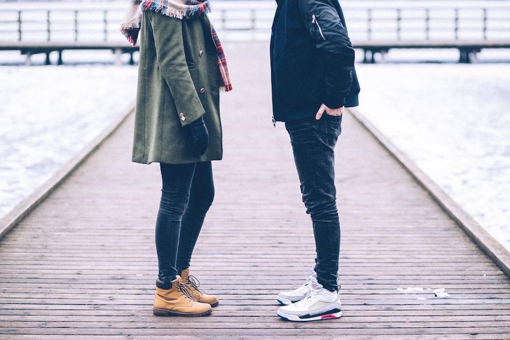 Couple argue small