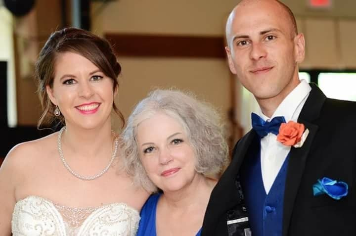First-time officiant Flo married her former students last year