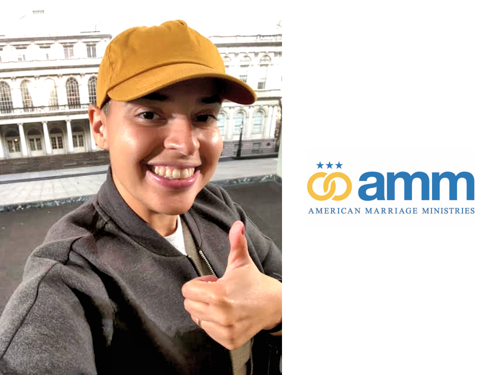 Meet Raquel, an AMM Minister who's been asked to officiate and is preparing for her upcoming ceremony by staying connected with AMM!