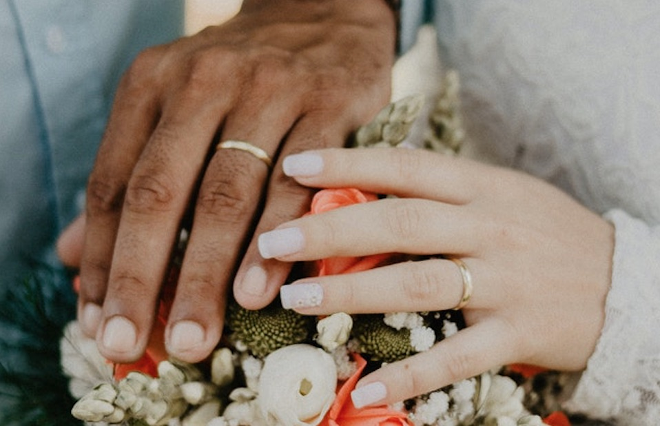 Hands wedding