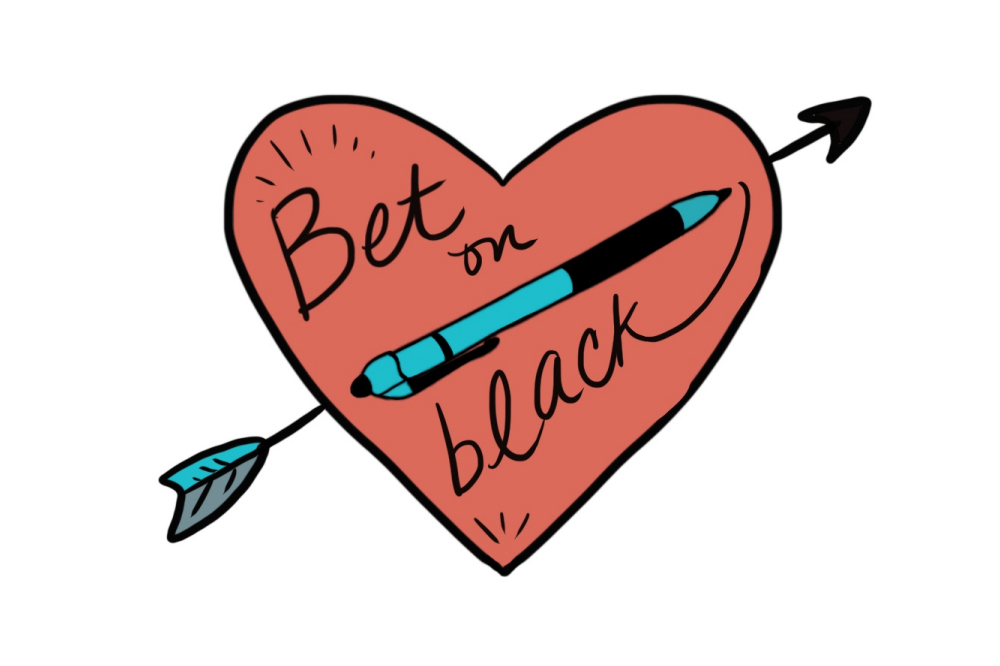 Use black ink marriage license