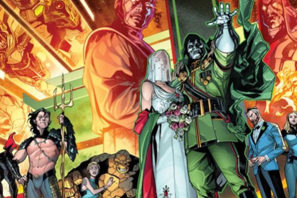 Comic book wedding ceremonies doctor doom is getting married marvel anniversary