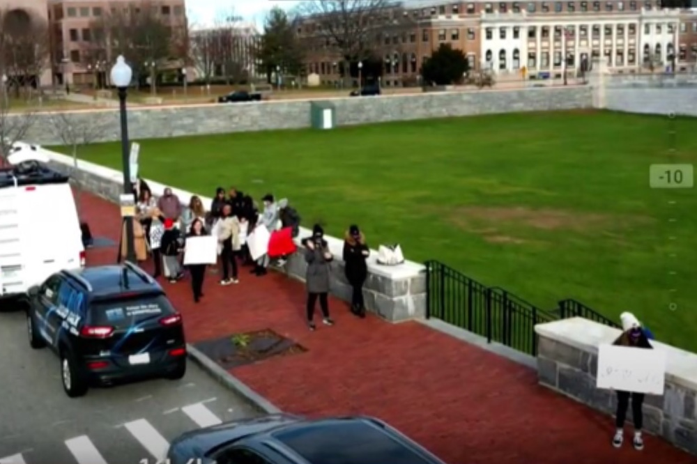 Rhode island wedding vendors rally restrictions ricwep