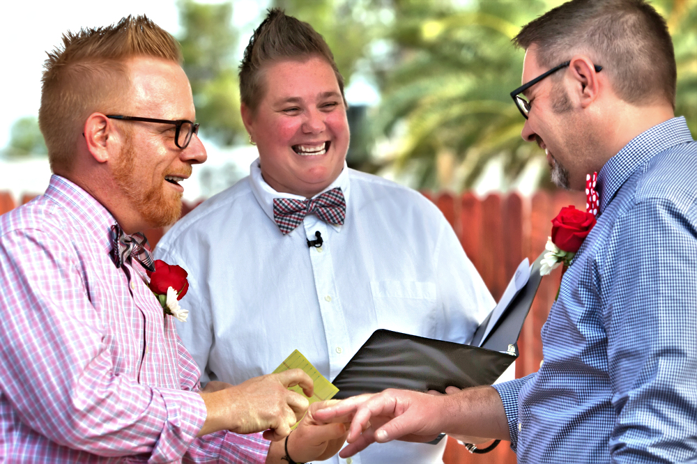 Philadelphia equal dignity pop up lgbt lgbtq wedding ceremony marriage equality