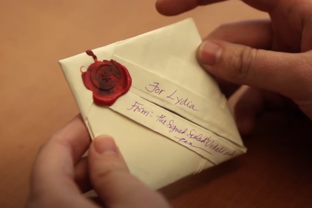 Cover image via Letterlocking.org, What It's Like To Open Locked Letters video