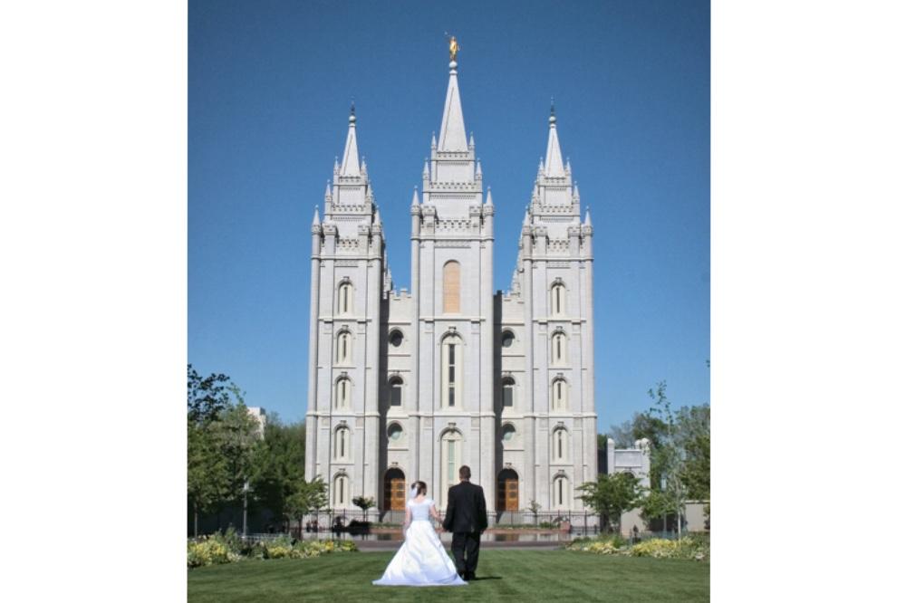 Mormon wedding temple ceremony secret eternity
