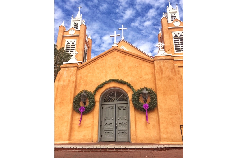 Cover image: San Felipe de Neri Church, Albuquerque, New Mexico; Credit Jessica Levey