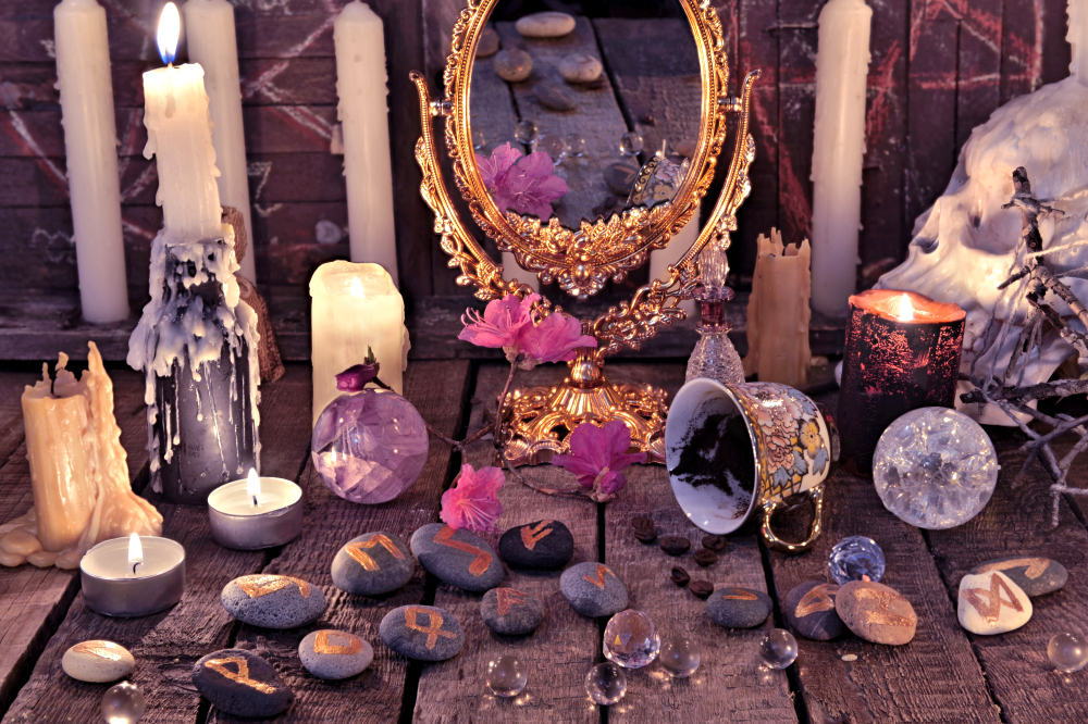 Wiccan wedding what happens ceremony altar