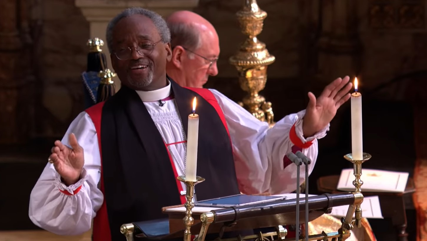 Cover image taken from BBC's streamed coverage of the Royal wedding, linked below.
