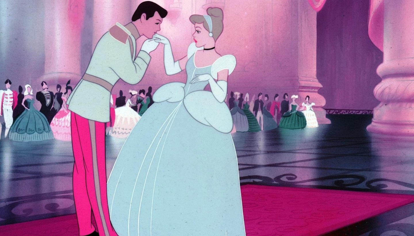 Cover image taken from the Disney film Cinderella, originally released in 1950