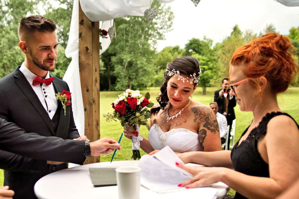 Missing marriage license lost forgot wedding ceremony