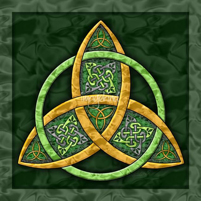 Celtic trinity knot art