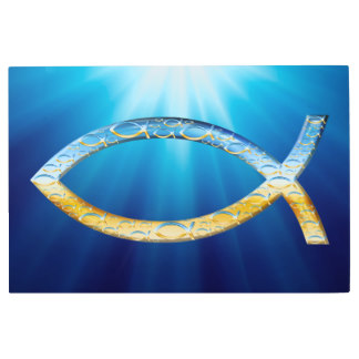 Christian fish symbol metal print r7b611168d8884f41b49135d5d0a822cf k2gcx 324