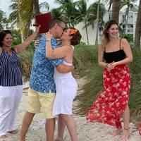 Key west renewal on beach