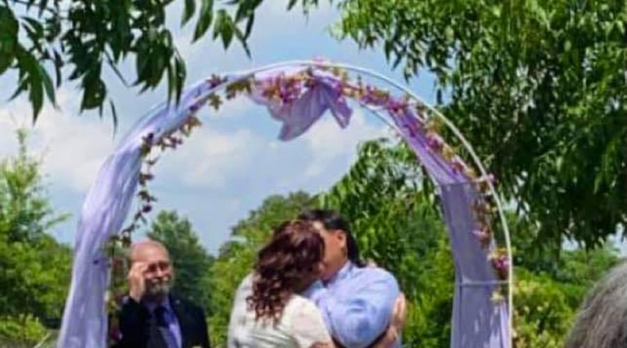 Jose   talesha monrreal wedding
