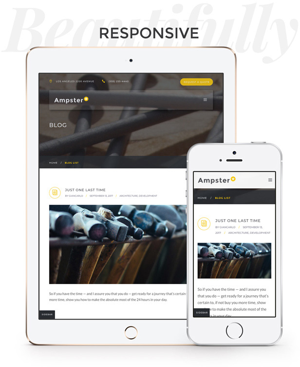 Ampster | Creative WordPress Theme for Business Websites - 9