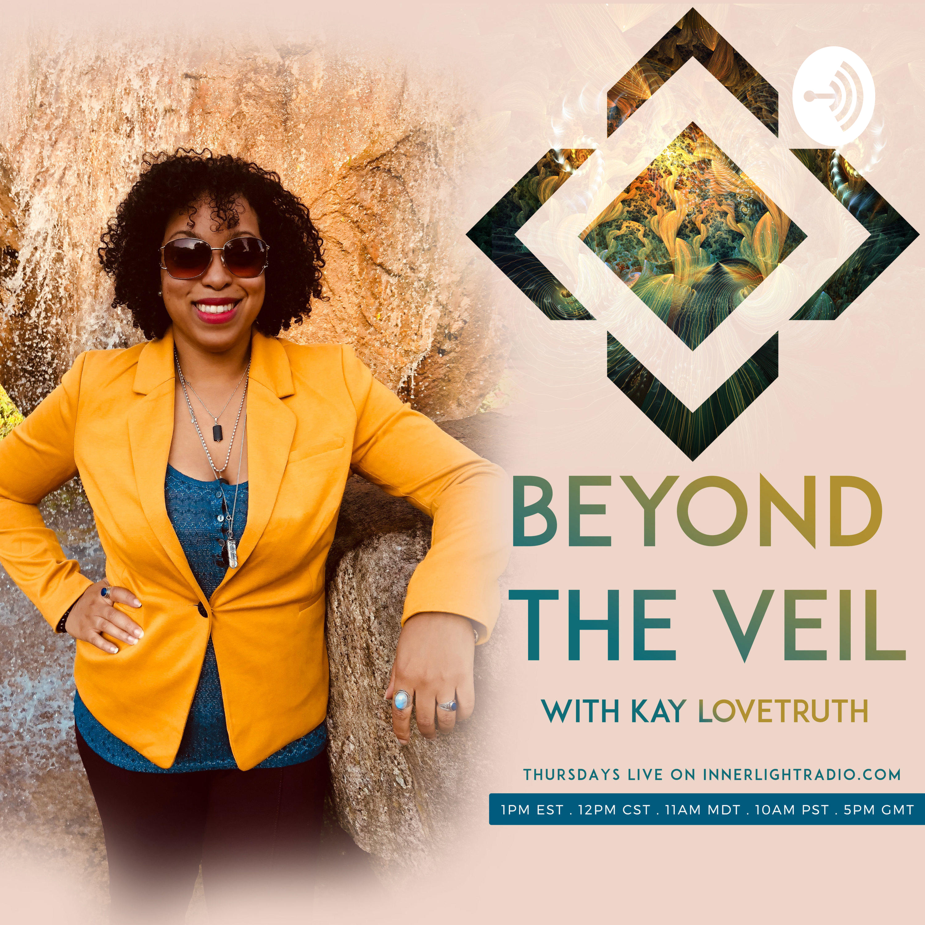 Beyond The Veil with Host Kay LoveTruth | Listen via Stitcher for
