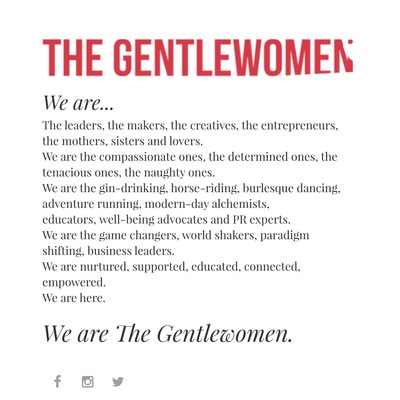The Gentlewomen's Minicast