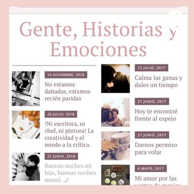 Gente, Historias y Emociones