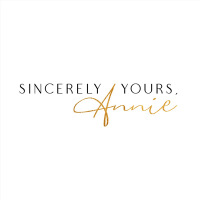 Sincerely Yours, Annie